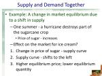 supply and demand together41