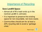 importance of recycling111