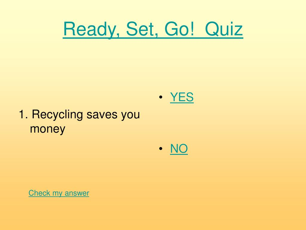 1. Recycling saves you money