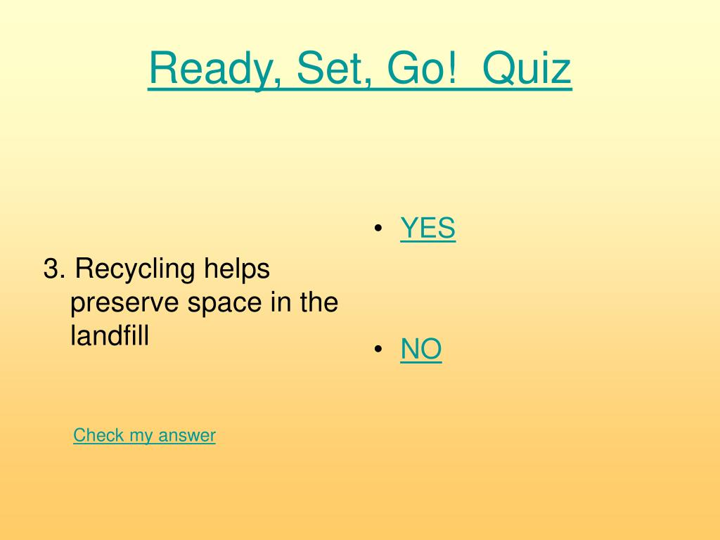 3. Recycling helps preserve space in the landfill