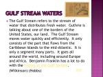 gulf stream waters