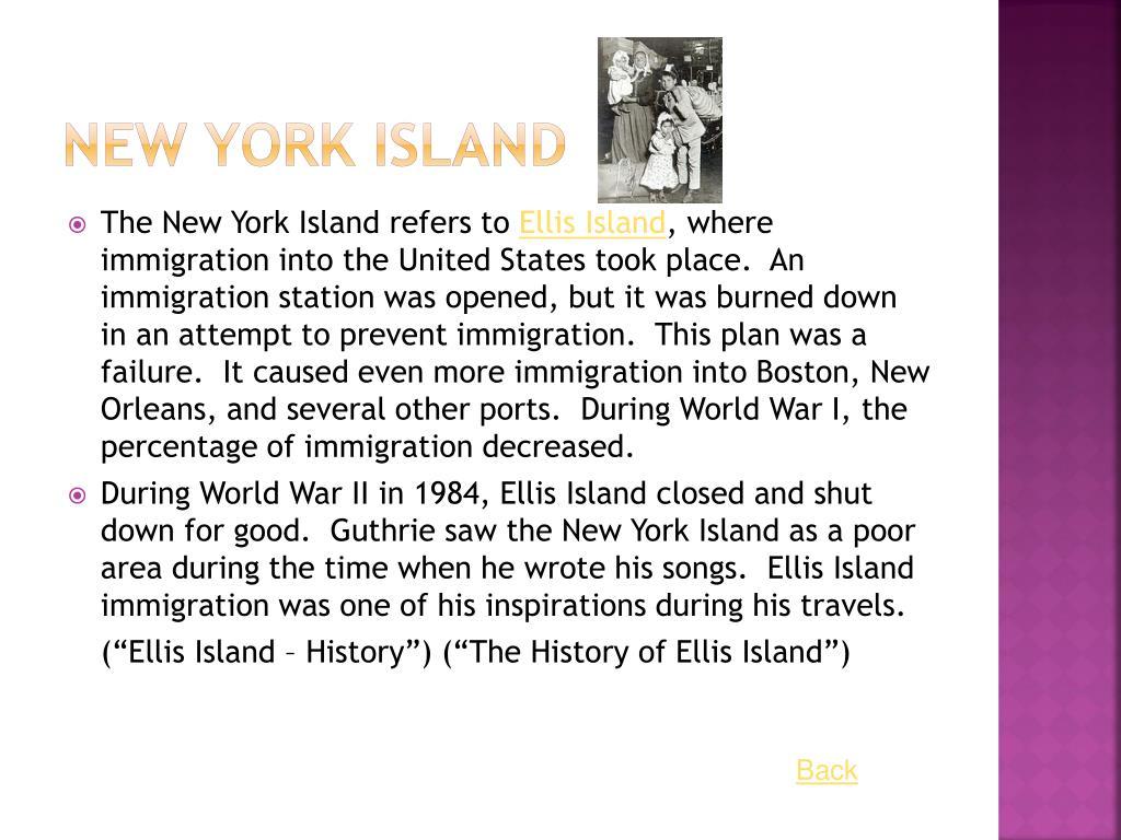 New York Island