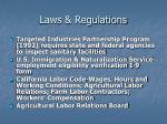 laws regulations19