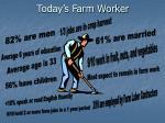 today s farm worker