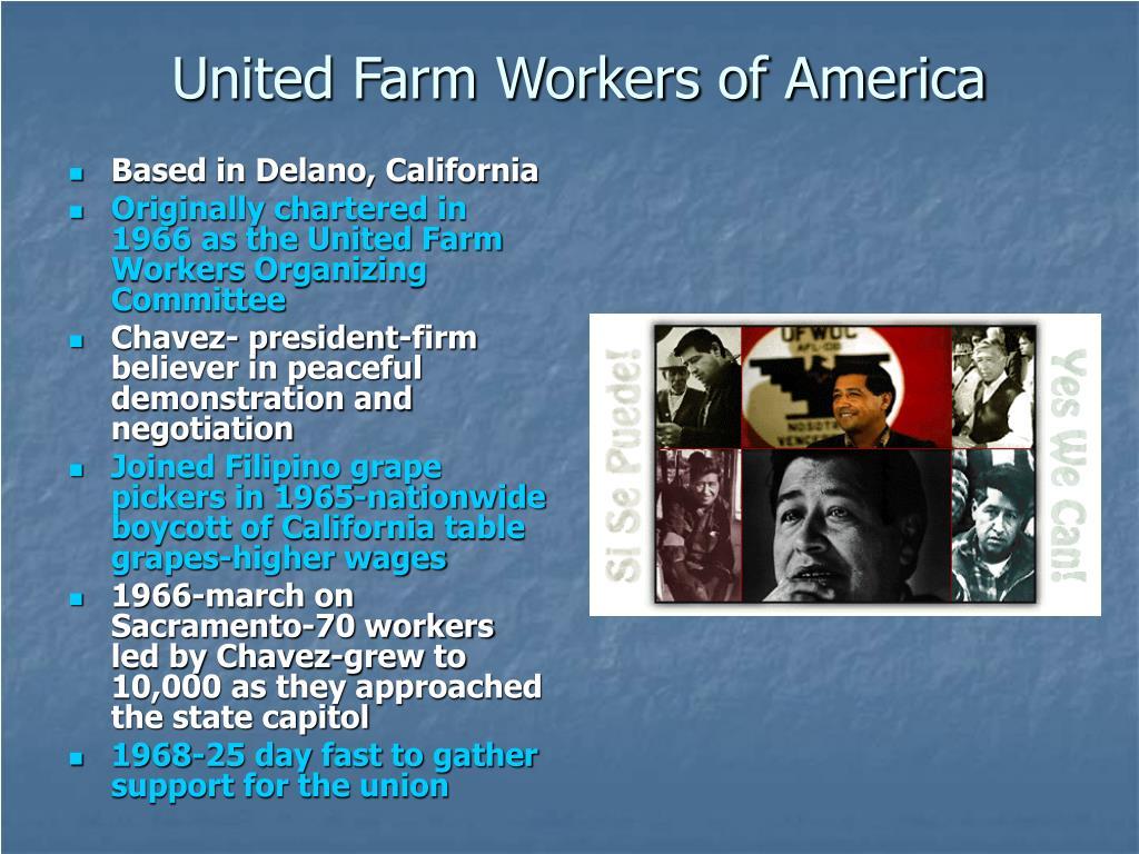 Based in Delano, California
