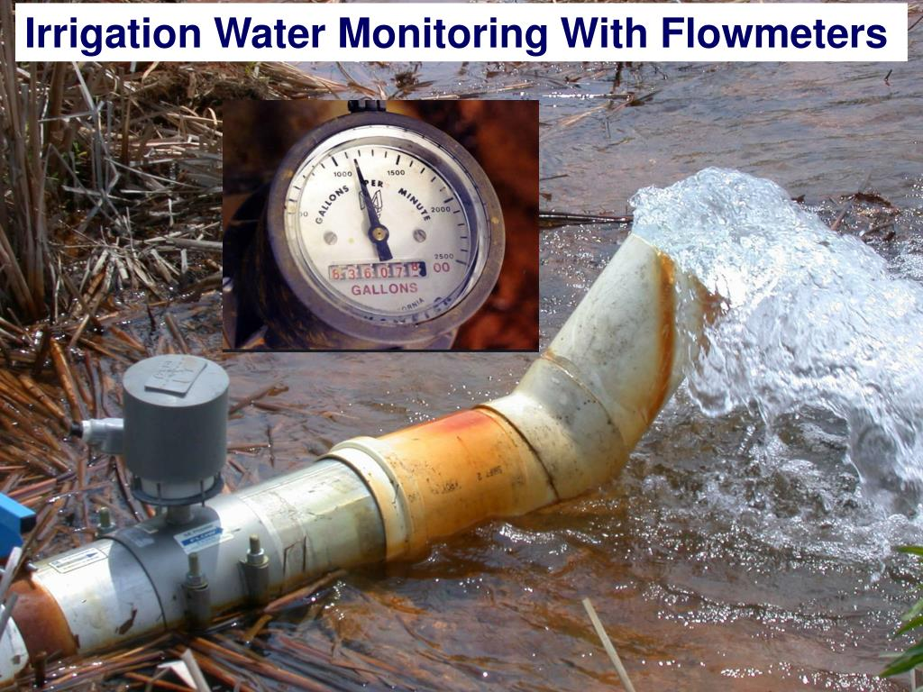 Irrigation Water Monitoring With Flowmeters