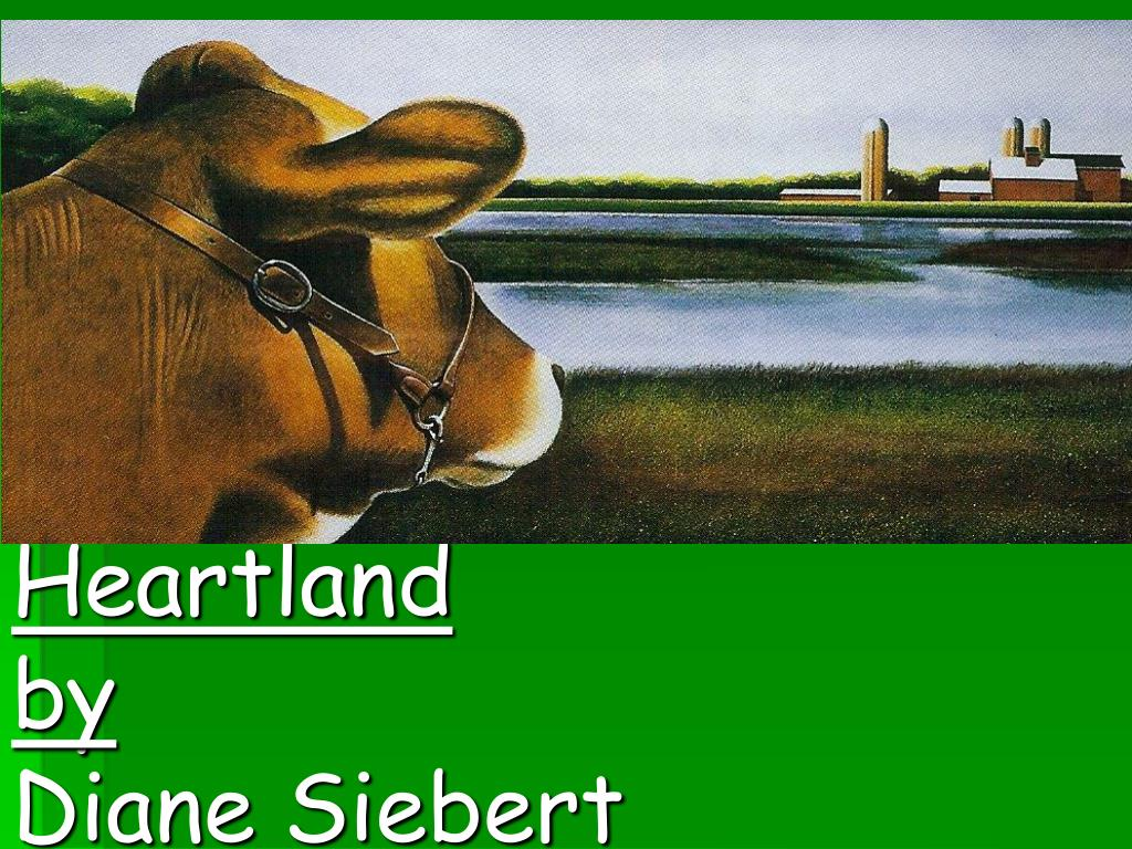 heartland by diane siebert l.