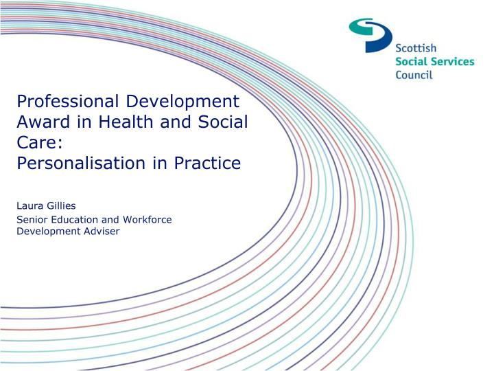 personalisation in health and social care