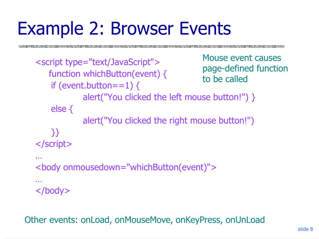 PPT - Introduction to JavaScript PowerPoint Presentation - ID:836652