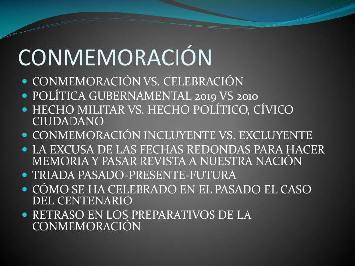 Conmemoraci n