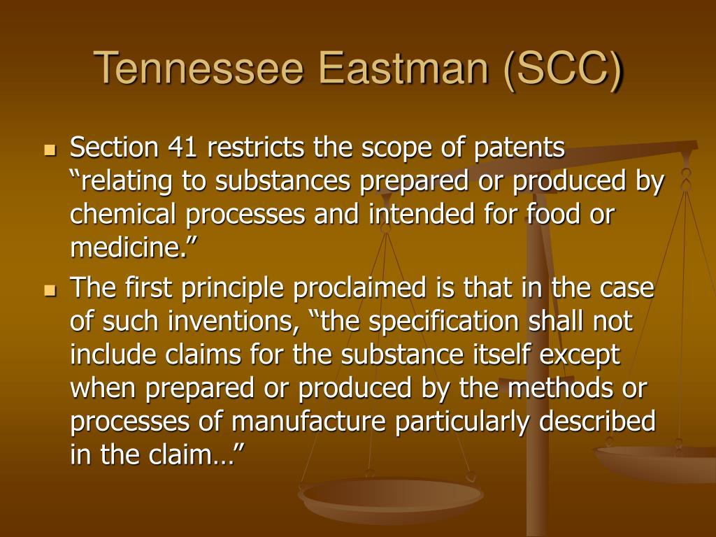 Tennessee Eastman (SCC)
