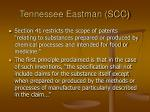 tennessee eastman scc