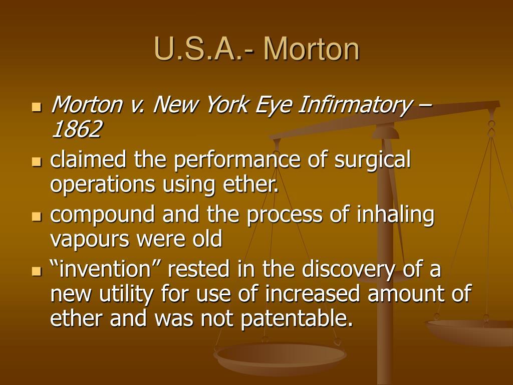 U.S.A.- Morton