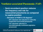 ventilator associated pneumonia vap52