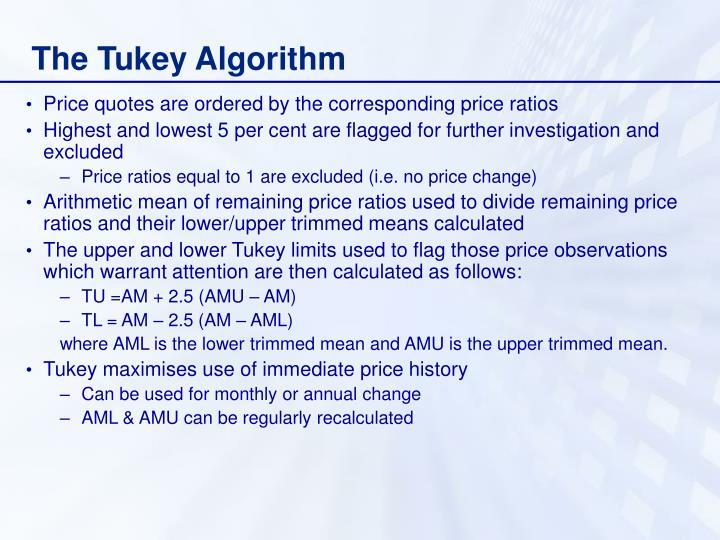 The Tukey Algorithm