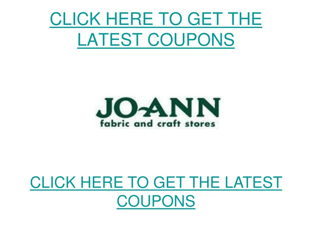 click here to get the latest coupons l.