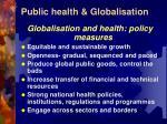 public health globalisation12