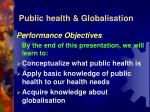 public health globalisation2