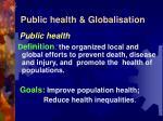 public health globalisation3