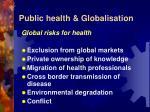 public health globalisation6