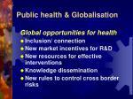 public health globalisation7