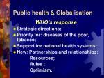 public health globalisation9