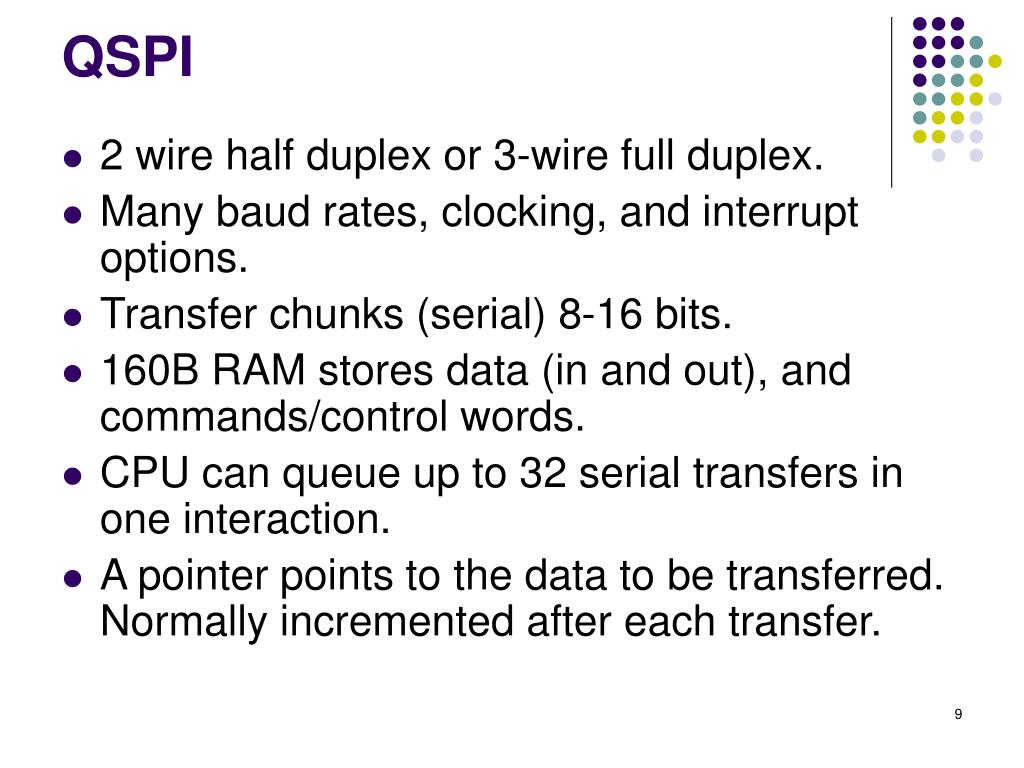 PPT - MPC 555: Queued Serial Module PowerPoint Presentation