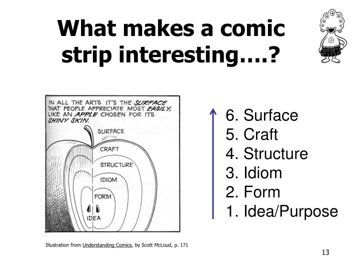 What makes a comic