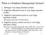 what is a database management system
