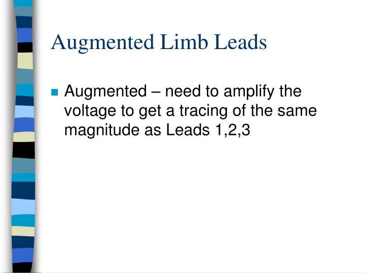 Augmented Limb Leads