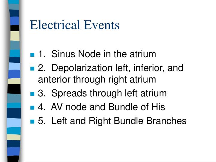 Electrical Events