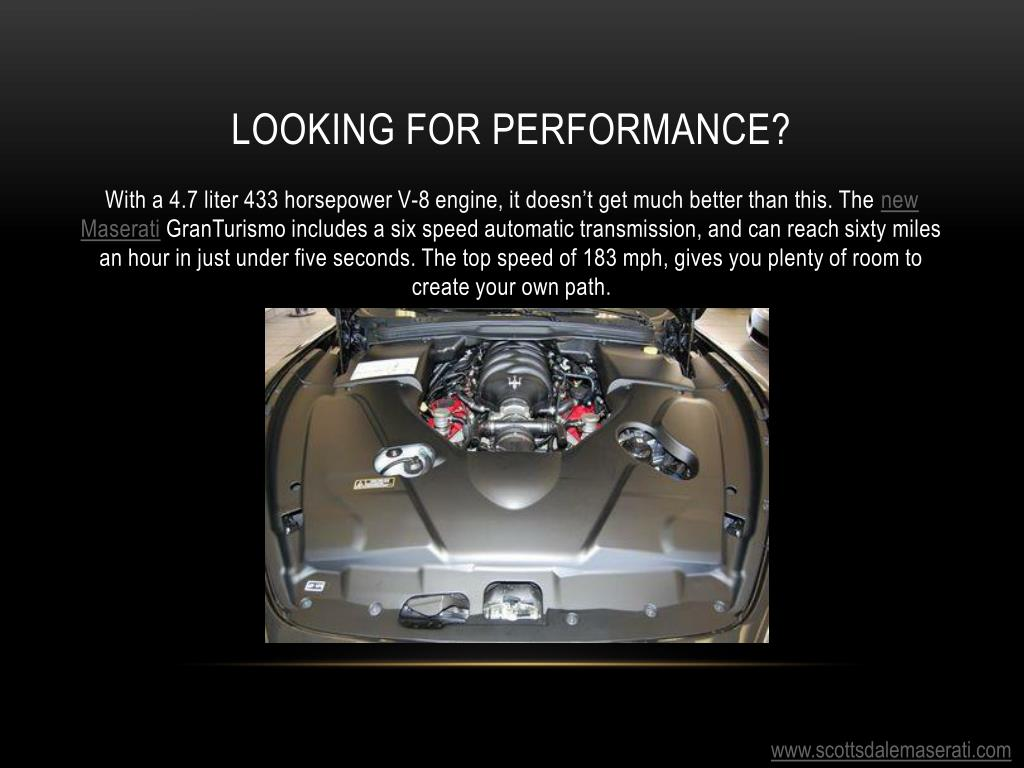 Looking for Performance?