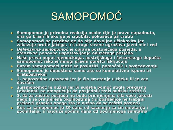 SAMOPOMOĆ