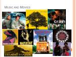 music and movies