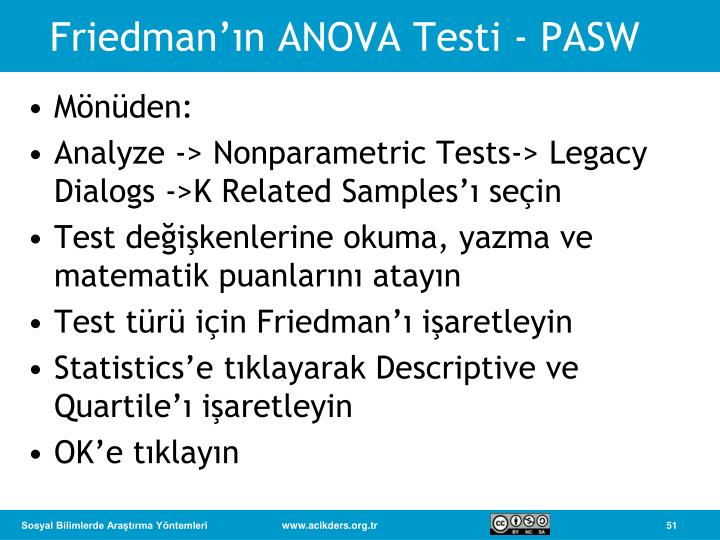 a brief description of non parametric tests Provides a brief description of the non-parametric kruskal wallis one-way anova.