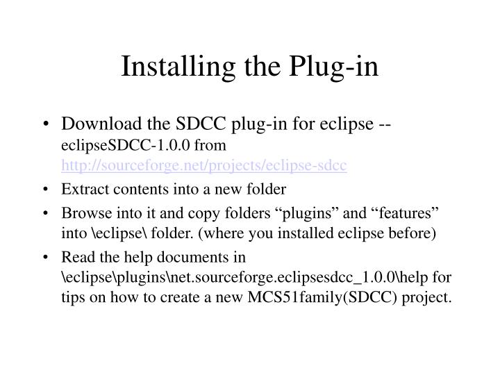 Installing the Plug-in