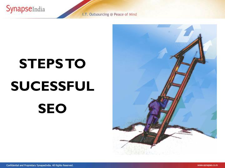 STEPS TO SUCESSFUL