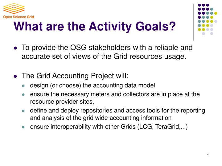 osg accounting system overview Gratia: new challenges in grid accounting philippe canal fermilab,  we show that gratia gives access to a thorough picture of the osg and  gratia system overview.