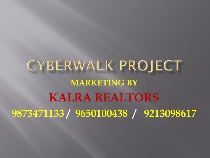 cyberwalk project n.