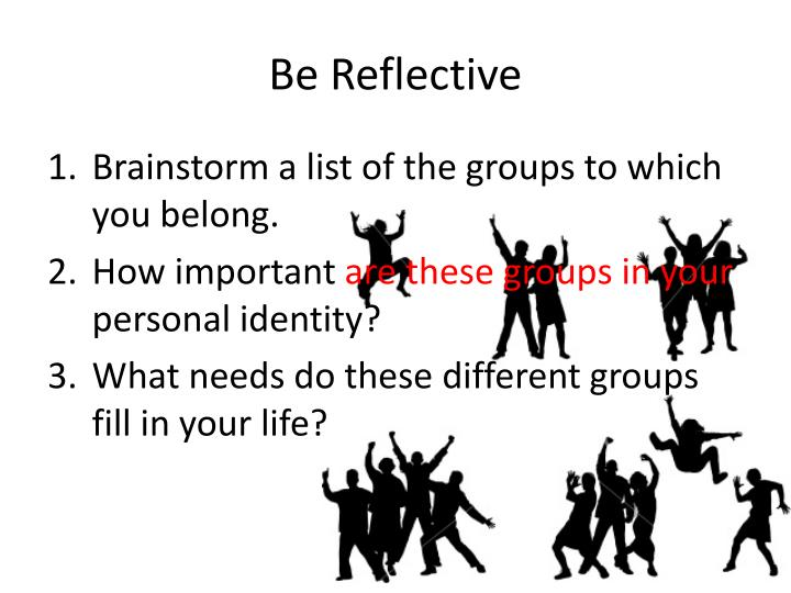 Be Reflective