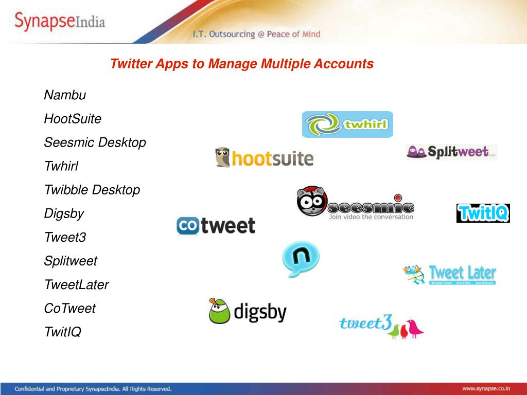 Twitter Apps to Manage Multiple Accounts