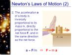 newton s laws of motion 2