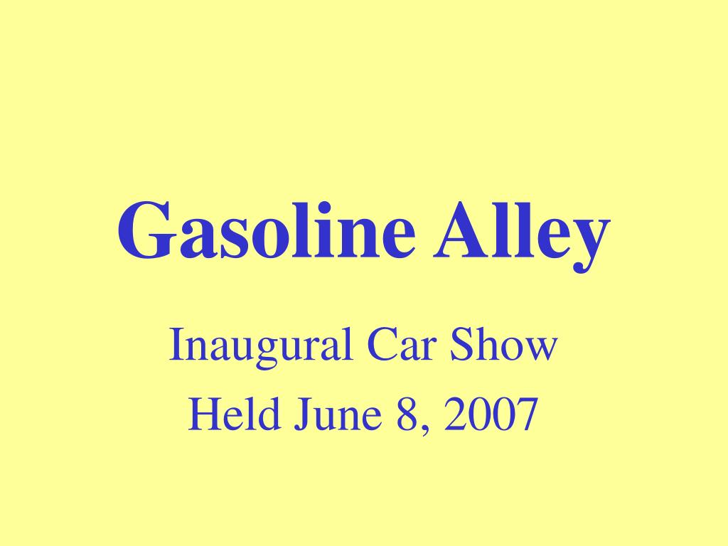 gasoline alley l.