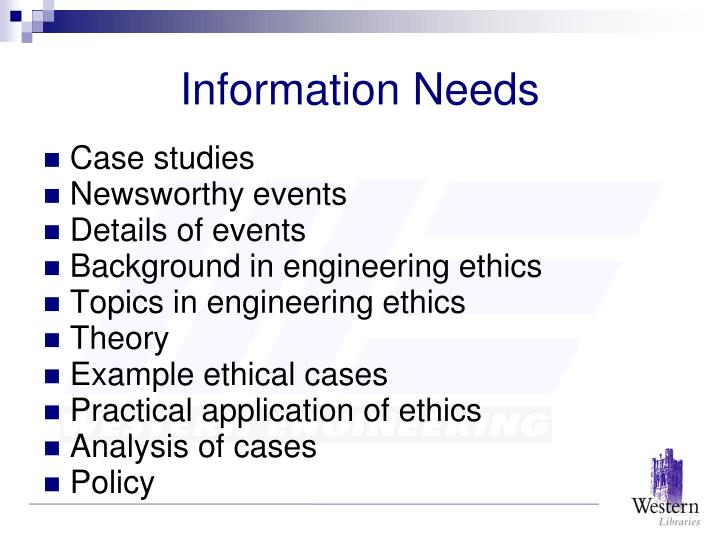 ethical analysis case studies Ias mains answer writing practice case example using the eight-step ethical decision making process - duration: 23:05 university of colorado anschutz medical campus 3,210 views.