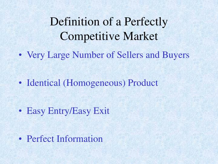 """the behavior of perfectly competitive market Econ 2100 – principles of microeconomics (summer 2016) """"behavior of firms in perfectly competitive markets"""" relevant readings from the textbook."""