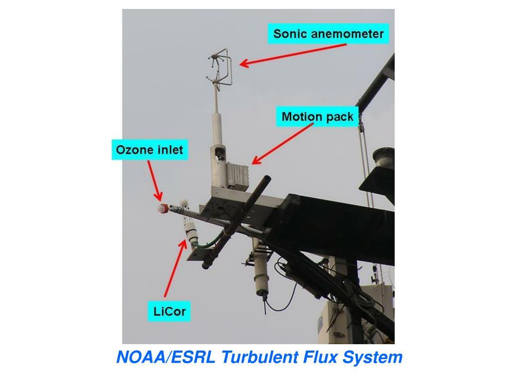 NOAA/ESRL Turbulent Flux System