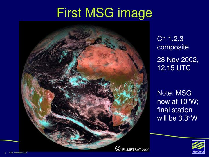 First msg image