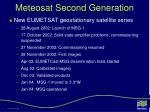 meteosat second generation2