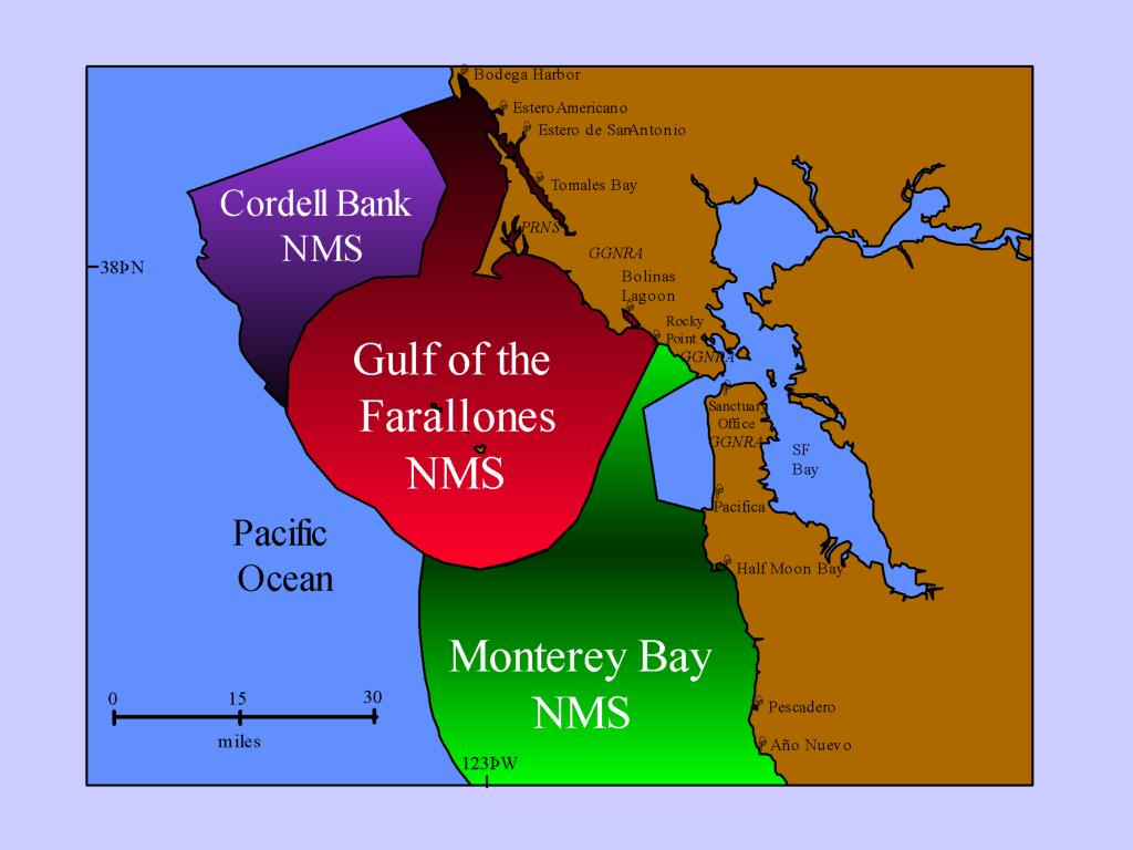 3. Map of Central California Sanctuaries