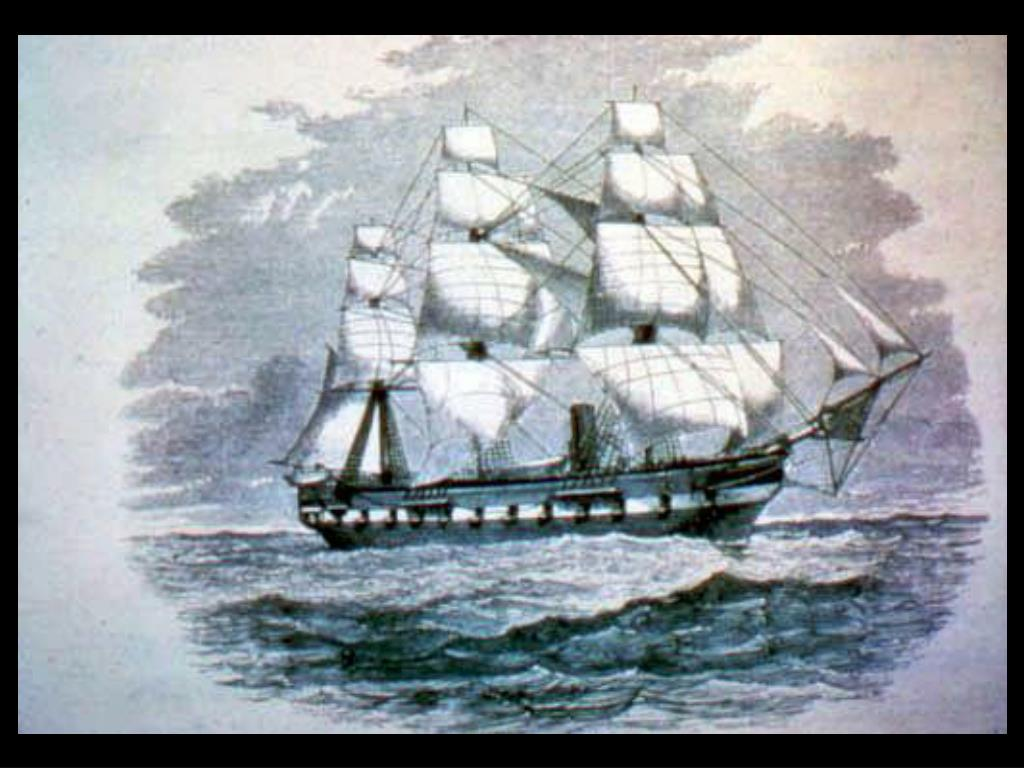 6. Old vessel drawing